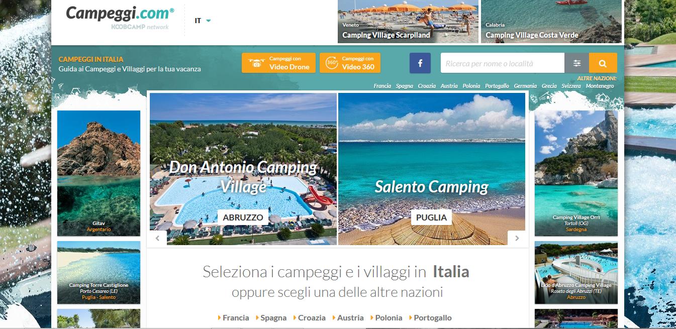 Campeggio . com