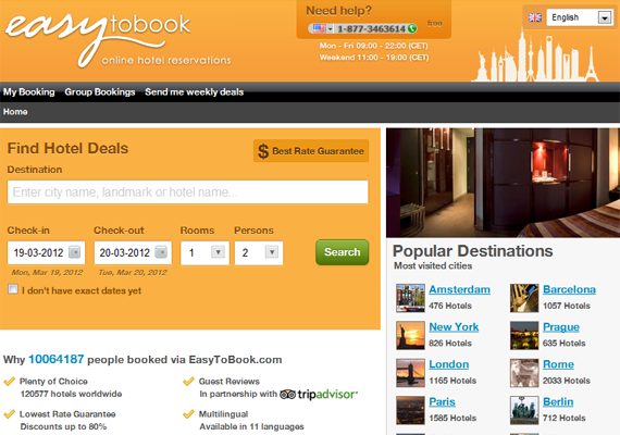 easy to book