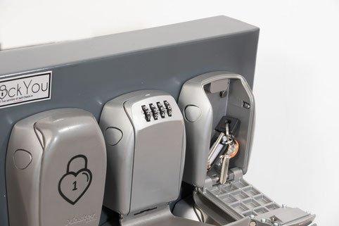 self check in lock box